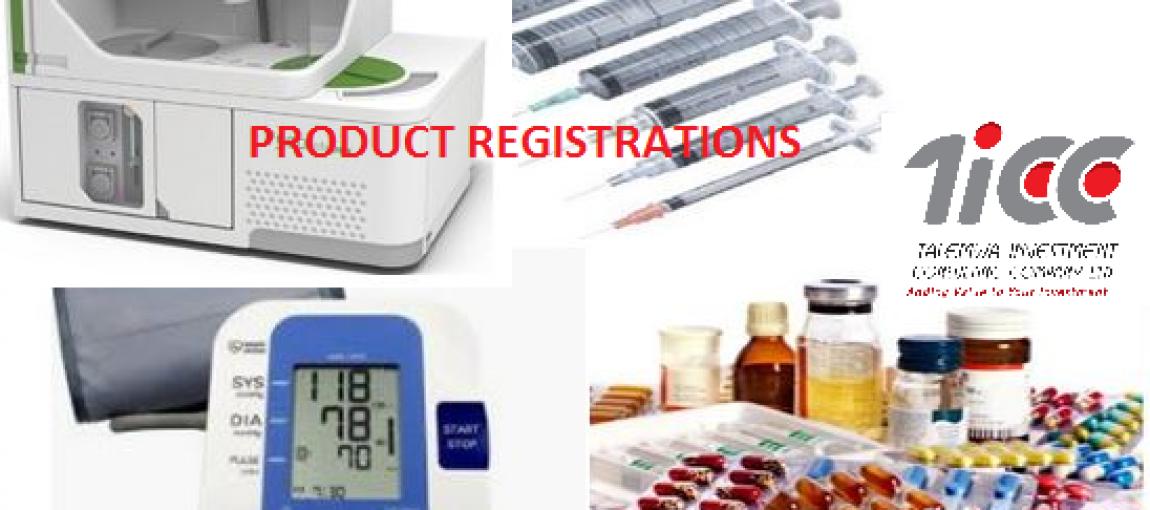 Product Registration & Local Representative Services1